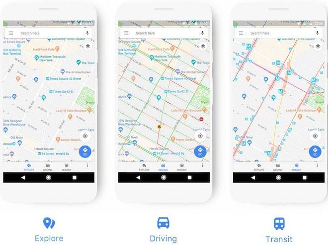 Google Maps cập nhật giao diện mới - 1