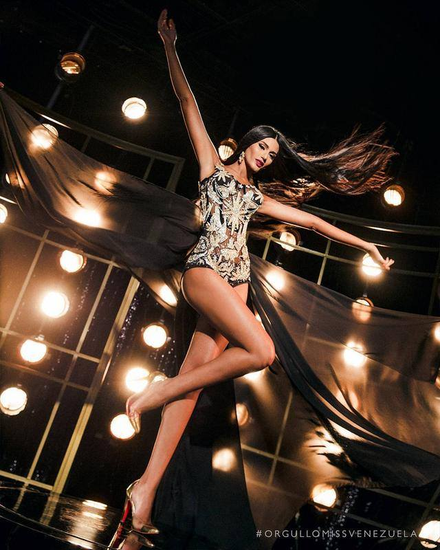 Hoa hậu Venezuela đẹp tựa tiên giáng trần đăng quang khi đất nước vỡ nợ - 7
