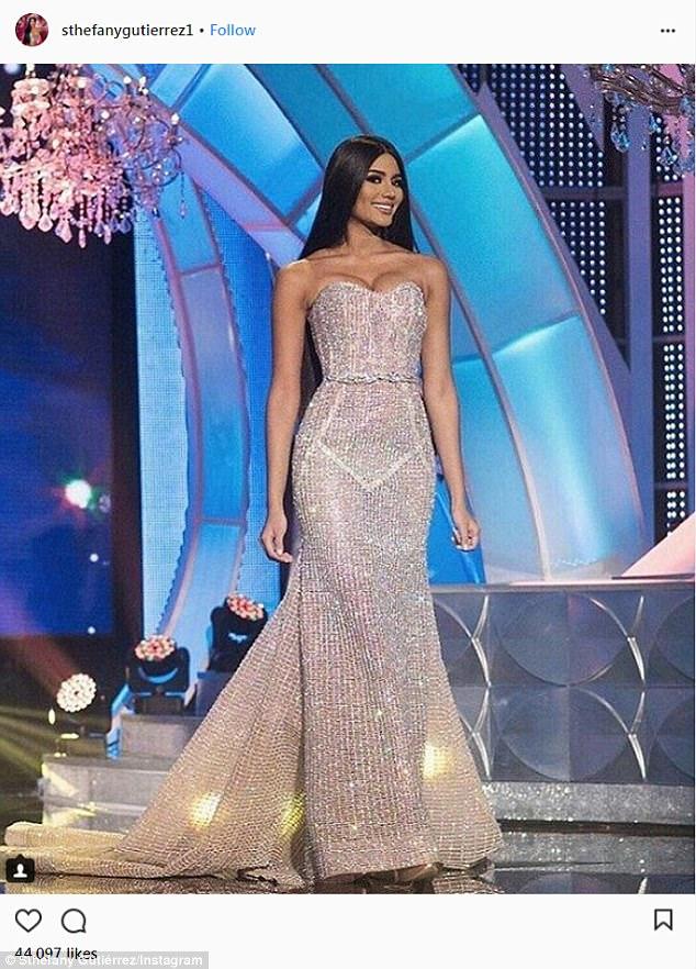 Hoa hậu Venezuela đẹp tựa tiên giáng trần đăng quang khi đất nước vỡ nợ - 4
