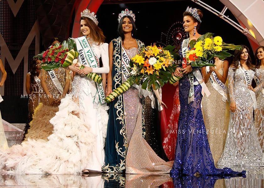 Hoa hậu Venezuela đẹp tựa tiên giáng trần đăng quang khi đất nước vỡ nợ - 2