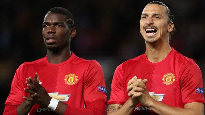 """MU đấu Newcastle: Ibra rủ Pogba tái xuất, """"cướp chỗ"""" Mkhitaryan - 1"""