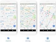 Google Maps cập nhật giao diện mới