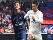 """Neymar tự giải phóng khỏi PSG: Mở đường máu đến Real """"phế truất"""" Ronaldo"""