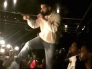 Khán giả nam sờ ngực fan nữ khiến rapper nổi tiếng tức giận