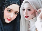 """""""Hot girl Hồi giáo"""" đẹp hoàn hảo bất chấp khăn trùm đầu"""