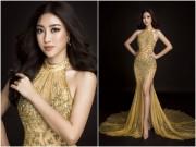 Váy trong suốt biến Mỹ Linh thành nữ thần ở chung kết Hoa hậu Thế giới