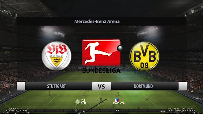 Stuttgart - Dortmund: 2 cú đấm chí tử vào tham vọng bá vương