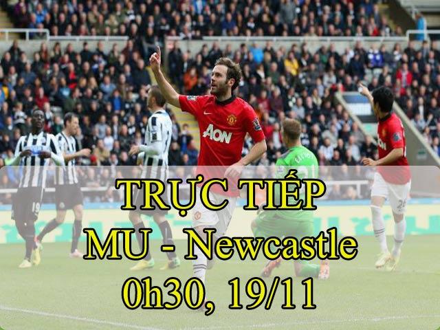 TRỰC TIẾP bóng đá MU - Newcastle: Cơ hội để bùng nổ (Vòng 12 Ngoại hạng Anh)