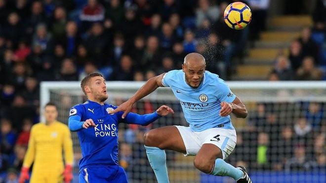 Leicester City - Man City: Mãn nhãn 2 tuyệt phẩm - 1