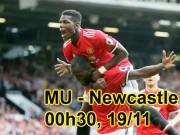 """MU – Newcastle: Pogba trở lại, quyết đánh bại """"Chích chòe"""""""