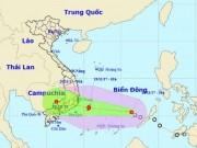 Bản tin thời tiết 13h: Bão số 14 hướng vào đất liền, Khánh Hòa đến Bình Thuận sắp mưa to