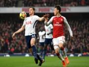 """Arsenal - Tottenham: Bàng hoàng vì 2 """"quả đại pháo"""" (Hiệp 1)"""