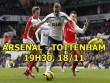 """Nhận định bóng đá Arsenal - Tottenham: """"Trọng pháo"""" Harry Kane và pháo đài Emirates"""