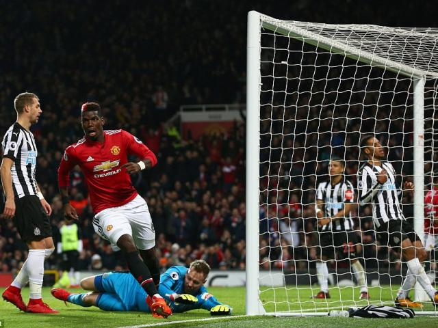 """Góc chiến thuật MU – Newcastle: Vũ điệu Pogba, Mourinho thấy """"dáng Quỷ"""""""