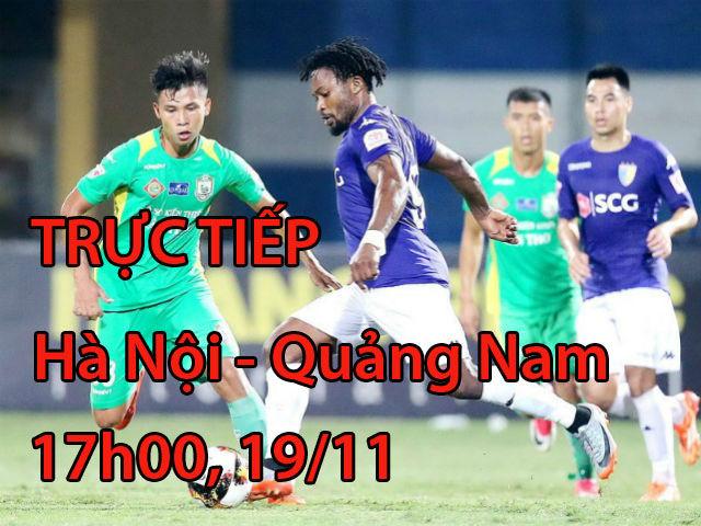 Chi tiết Hà Nội - Quảng Nam: Đứng tim phút bù giờ (KT)