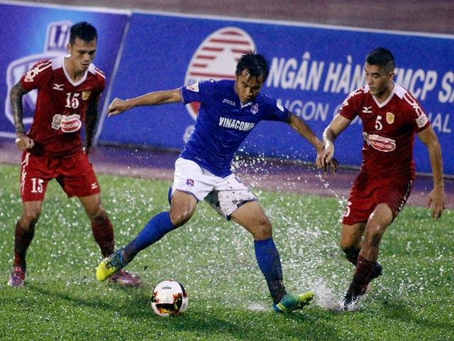 TP.HCM - T.Quảng Ninh: Tưng bừng tiệc bàn thắng