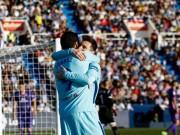 """Leganes - Barcelona: Siêu anh hùng ngày Messi """"vô hình"""""""