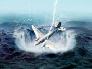 "Thế giới - Mỹ: F-15 truy đuổi, máy bay ""ma"" biến mất bí ẩn"