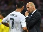 """Real bị Barca cho """"hít khói"""": Zidane – Ronaldo thôi đừng tham lam!"""