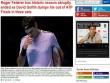 """Federer """"vỡ mộng"""" ATP Finals: Báo chí sốc nặng, gửi lời chia buồn"""