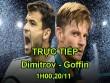 TRỰC TIẾP Dimitrov - Goffin: Nghẹt thở set 1