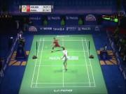 """Cầu lông đỉnh cao: Chen Long ra vợt """"như thần"""" hạ """"siêu nhân"""" Axelsen"""