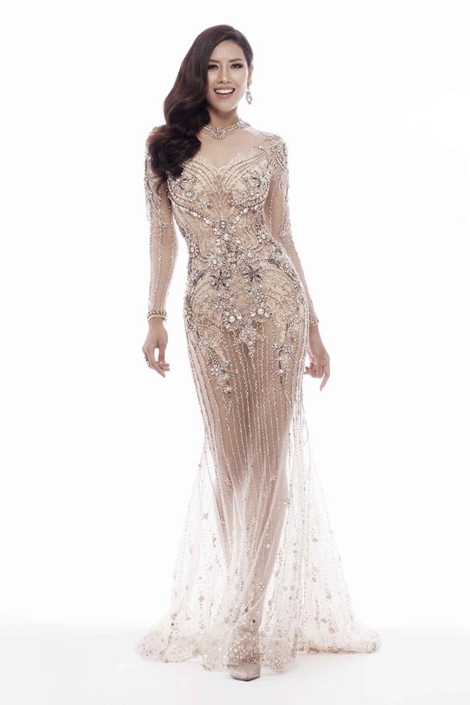 Nguyễn Thị Loan mặc mỏng manh như sương thi Hoa hậu Hoàn vũ - 8