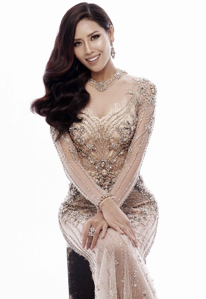 Nguyễn Thị Loan mặc mỏng manh như sương thi Hoa hậu Hoàn vũ - 9