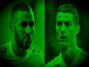 """Bi kịch Real: """"Chân gỗ"""" Ronaldo – Benzema, mờ nhất lịch sử"""