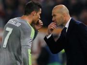 Real Madrid biến căng: Ronaldo cãi tay đôi Zidane, chán nản đòi ra đi