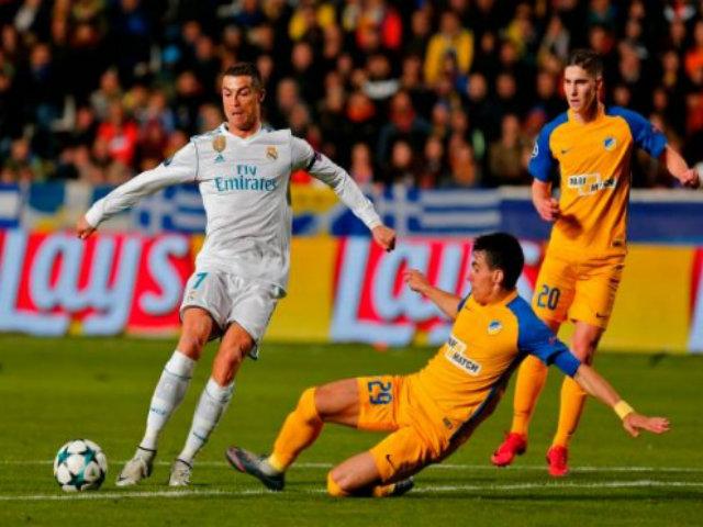 APOEL Nicosia - Real Madrid: Cú đúp siêu sao, tưng bừng 6 bàn