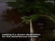 """Xõa tới bến"" tại khu du lịch mạo hiểm ở Campuchia"