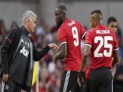 """Họp báo MU đá cúp C1: Mourinho """"cáu"""" với Lukaku vụ thoát án tù"""