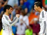 """Ronaldo thăng hoa cúp C1, thê thảm ở Liga: """"Thủ phạm"""" Isco?"""