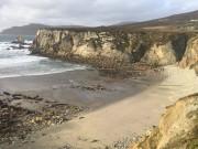 Bãi biển tái xuất sau 12 năm biến mất ở Ireland