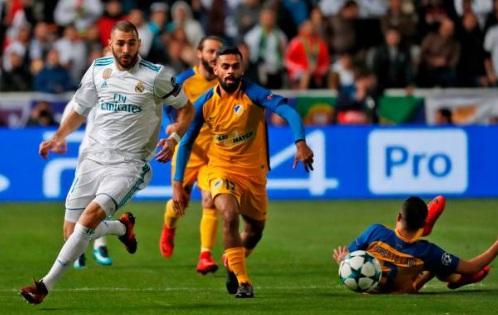 Chi tiết APOEL Nicosia - Real Madrid: Không có bàn thắng thứ 7 (KT) - 3
