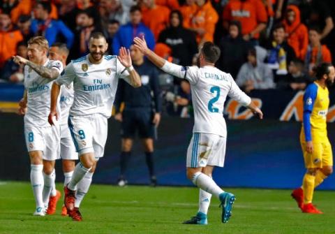 Chi tiết APOEL Nicosia - Real Madrid: Không có bàn thắng thứ 7 (KT) - 6