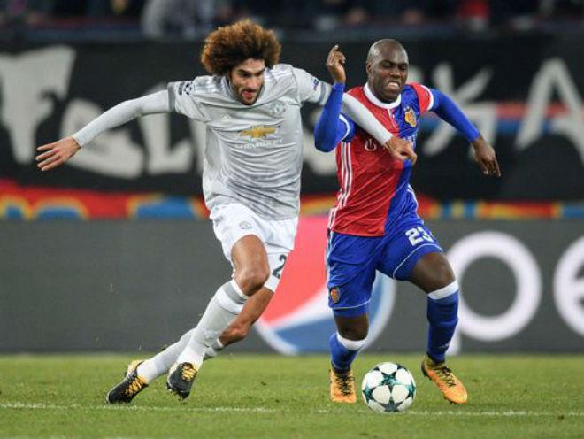 Basel - MU: Siêu sao vô duyên, đòn đau phút 89 - 1
