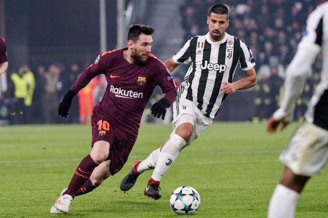 Messi dự bị sau 1 năm, Barca vẫn gặt kỉ lục đáng nể ở cúp C1 - 1