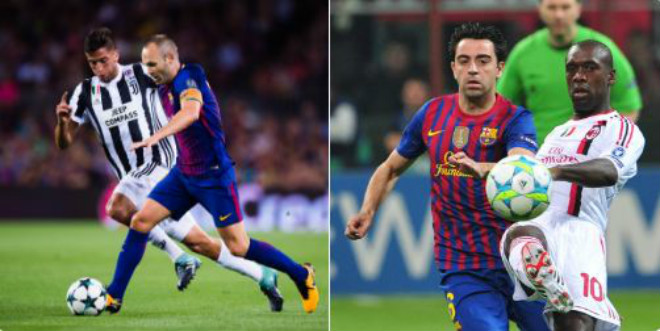 Messi dự bị sau 1 năm, Barca vẫn gặt kỉ lục đáng nể ở cúp C1 - 2