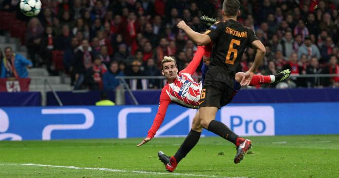 """Tuyệt tác cúp C1: Griezmann """"ngả bàn đèn"""", Neymar đua """"săn bàn"""" Cavani - 1"""