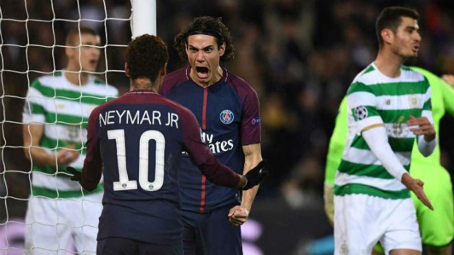 """Tuyệt tác cúp C1: Griezmann """"ngả bàn đèn"""", Neymar đua """"săn bàn"""" Cavani - 8"""