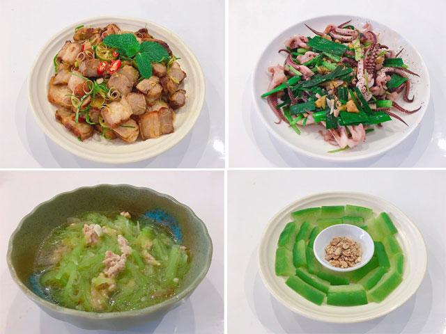 Thực đơn cho bữa trưa toàn món đưa cơm, ấm bụng ngày rét đậm - 1
