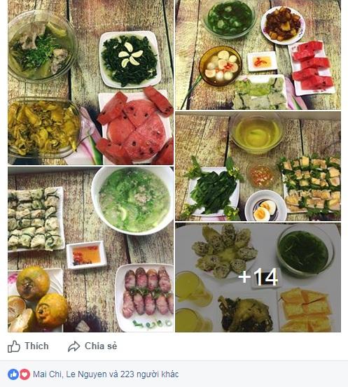 """Phát thèm với mâm cơm """"dụ"""" chồng về nhà ăn mỗi ngày của nữ nhân viên kế toán - 1"""