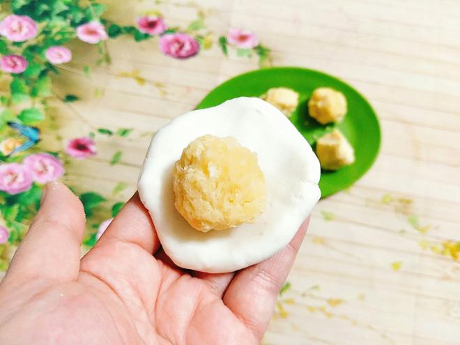 Tuyệt chiêu làm bánh dầy đậu xanh dẻo mềm, trắng ngần cho bữa sáng - 9