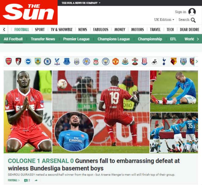 """Arsenal thua sốc: Báo Anh chê tơi tả, rộ tin Wenger sắp """"về vườn"""" - 4"""