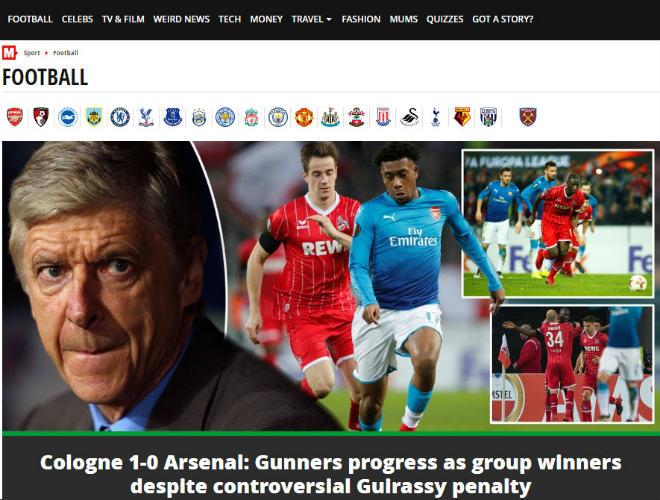 """Arsenal thua sốc: Báo Anh chê tơi tả, rộ tin Wenger sắp """"về vườn"""" - 6"""