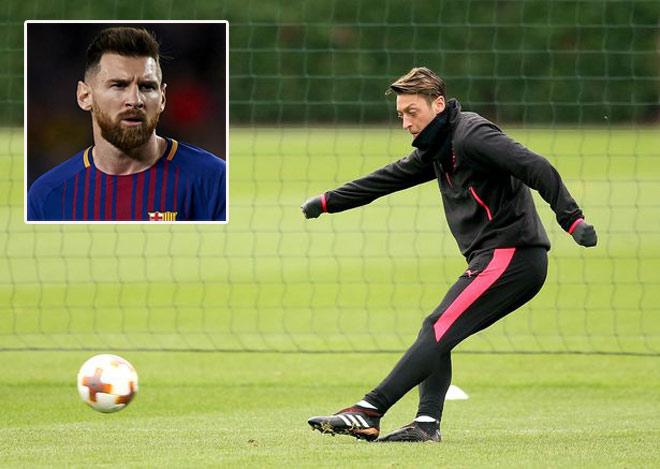 """Barca săn """"bom tấn"""": Messi chê Ozil, chỉ kết Coutinho 120 triệu bảng - 1"""