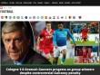 """Arsenal thua sốc: Báo Anh chê tơi tả, rộ tin Wenger sắp """"về vườn"""""""