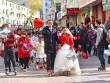 """Đám cưới đặc biệt """"hiếm có khó tìm"""" của cặp đôi mê patin"""